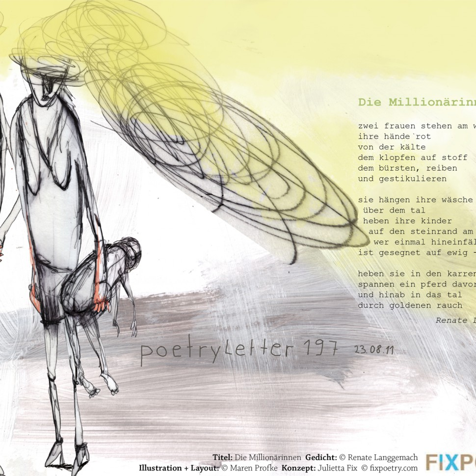 Millionärinnen/Gedicht: Renate Langgemach